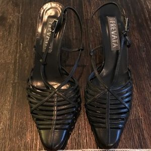 Prevata Made in Italy Strappy Leather Scandals